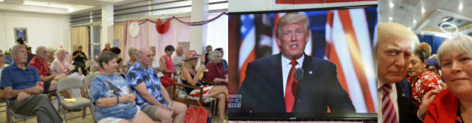 RPK watching Trump's Acceptance